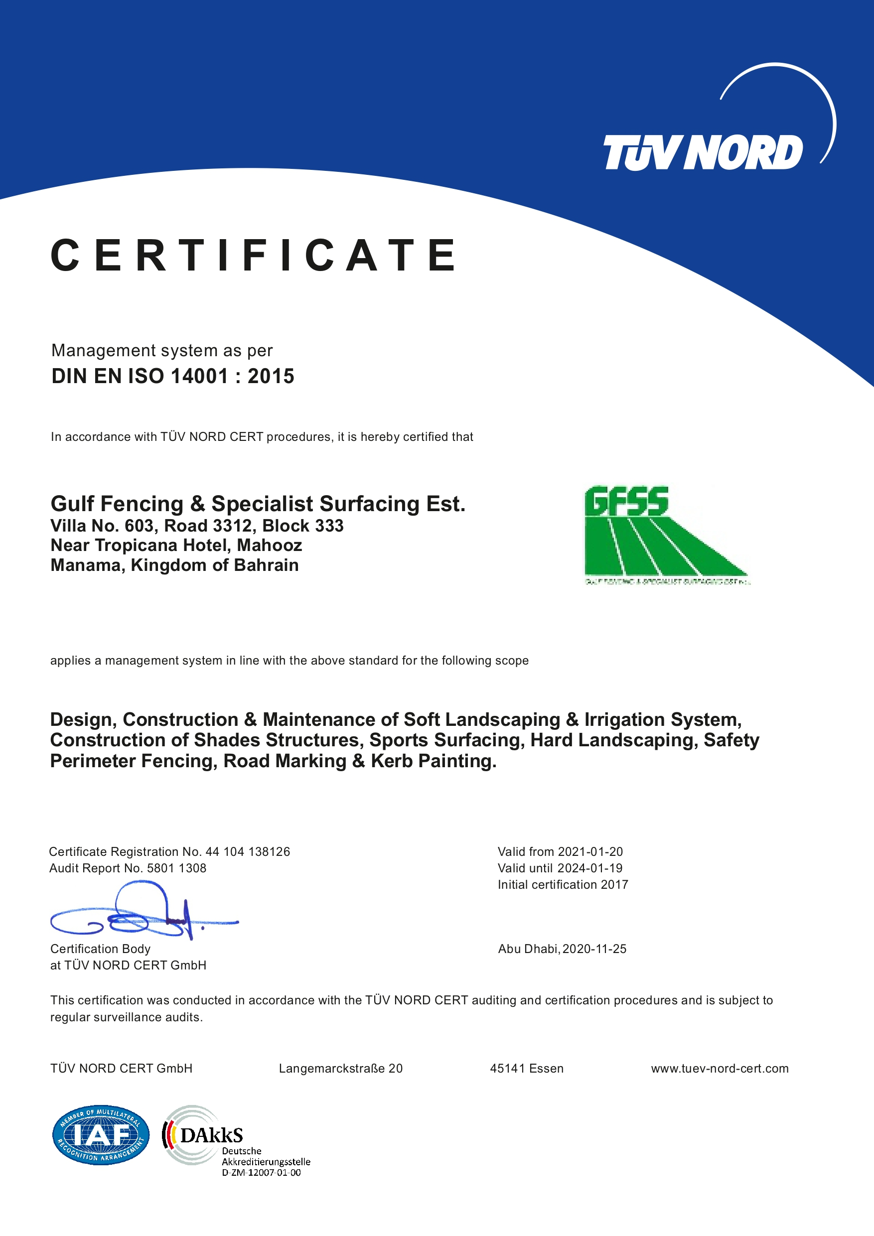 Certifications Policies Gulf Fencing